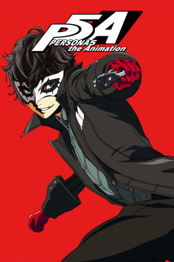 Poster of PERSONA5 the Animation