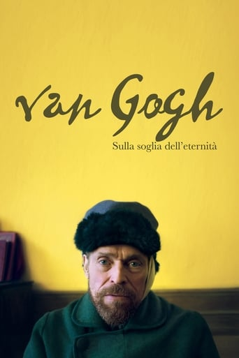 Poster of Van Gogh - Sulla soglia dell'eternità