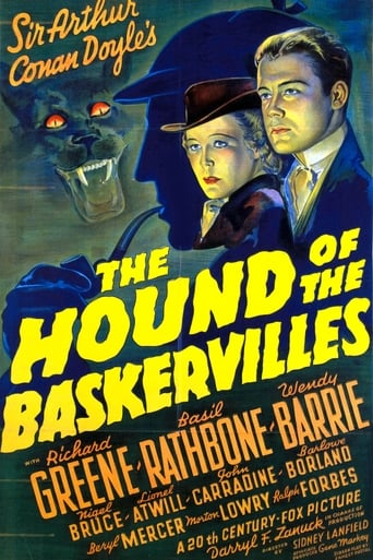Poster of The Hound of the Baskervilles