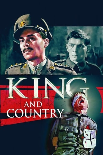Poster of King and Country – Für König und Vaterland
