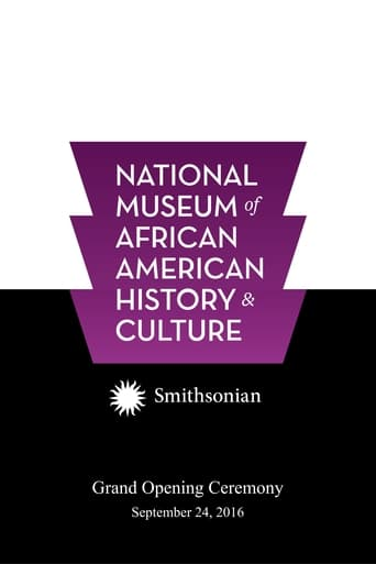 National Museum of African American History and Culture Grand Opening Ceremony poster