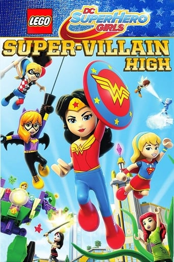Lego DC Super Hero Girls: Super-Villain High - Poster