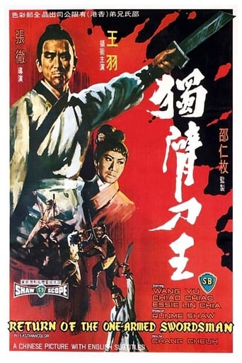 Poster of Return of the One-Armed Swordsman