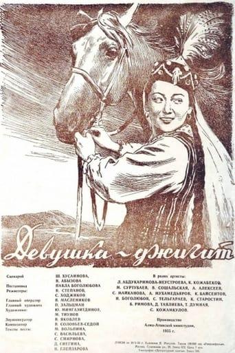 Poster of Девушка-джигит