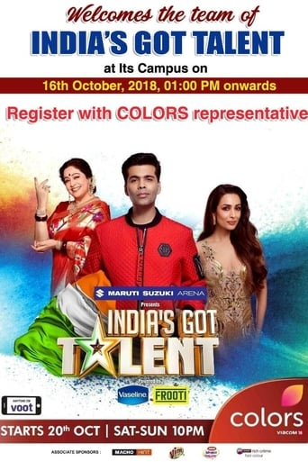 Poster of India's Got Talent