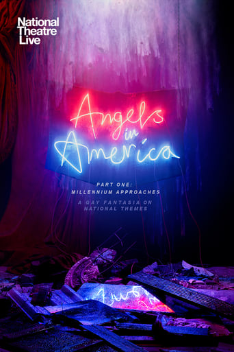 Poster of National Theatre Live: Angels in America: Part 1 - Millennium Approaches