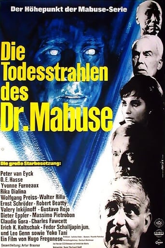 Poster of The Death Ray of Dr. Mabuse