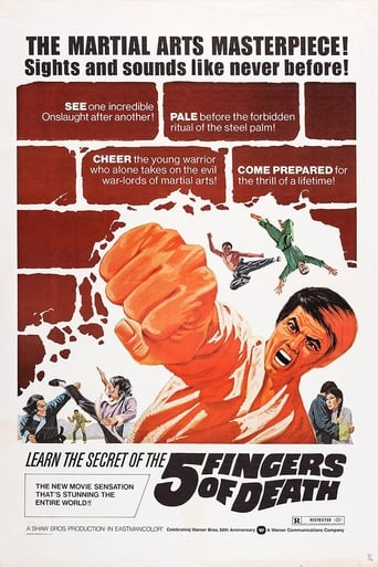 Poster of Five Fingers of Death