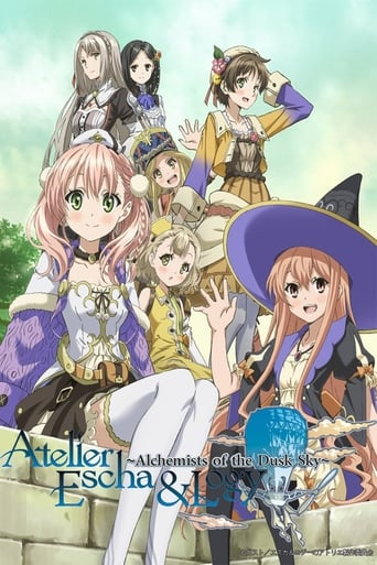 Poster of Atelier Escha & Logy : Alchemists of the Dusk Sky