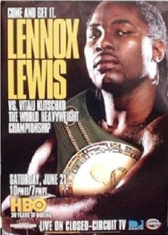 Poster of Lennox Lewis vs. Vitali Klitschko