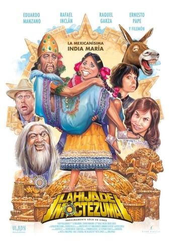 Poster of La hija de Moctezuma