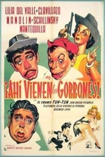 Poster of Ahí vienen los gorrones