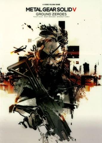 Metal Gear Solid V: Ground Zeroes poster