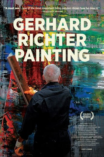 Poster of Gerhard Richter Painting