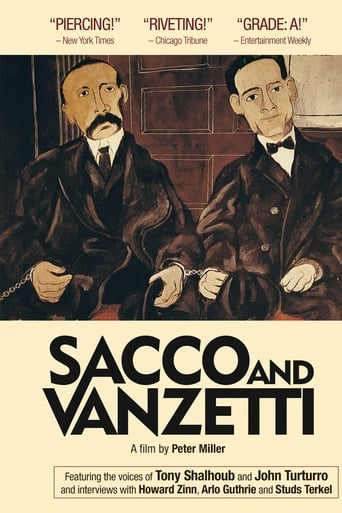 Poster of Sacco and Vanzetti