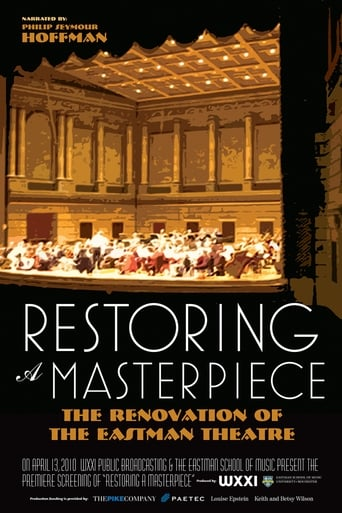 Poster of Restoring a Masterpiece: The Renovation of Eastman Theatre