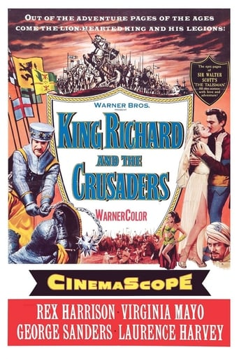 Poster of King Richard and the Crusaders