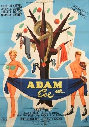 Poster of Adam est... Ève