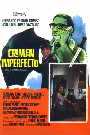 Poster of Crimen imperfecto