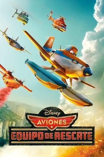 Poster of Aviones: Equipo de rescate
