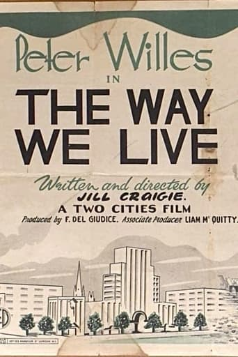 Poster of The Way We Live