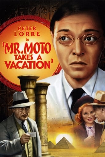 Poster of Mr. Moto Takes a Vacation