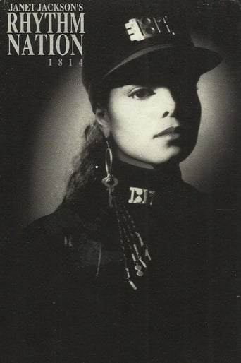 Poster of Janet Jackson's Rhythm Nation 1814