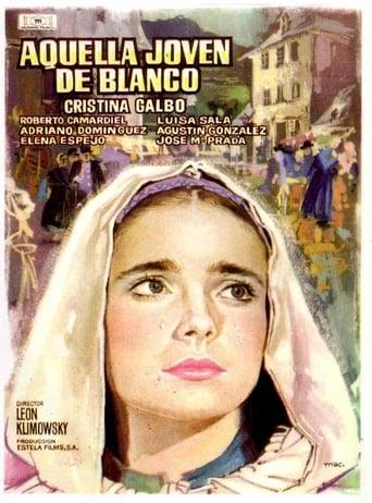 Poster of Aquella joven de blanco