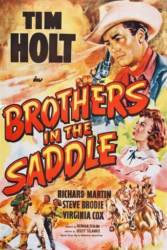 Poster of Brothers in the Saddle
