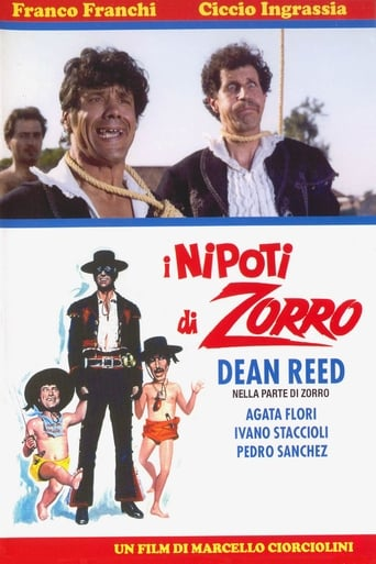 Poster of The Nephews of Zorro