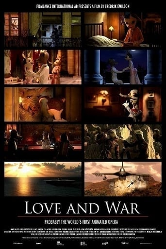 Poster of Love and War