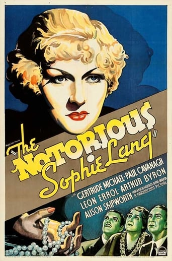 Poster of The Notorious Sophie Lang