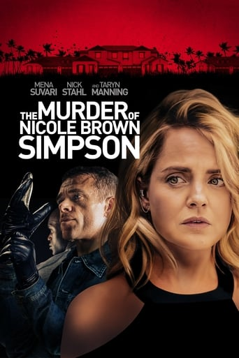Poster of The Murder of Nicole Brown Simpson