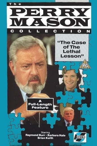 Poster of Perry Mason: The Case of the Lethal Lesson
