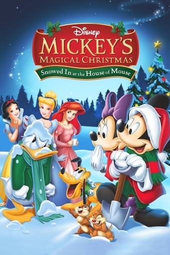 Poster of Mickey's Magical Christmas: Snowed in at the House of Mouse