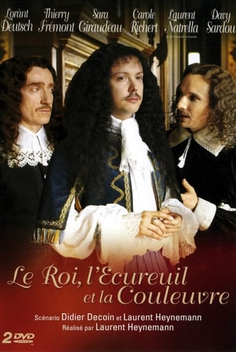 Poster of Le Roi, l'Écureuil et la Couleuvre