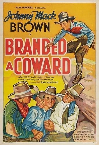 Poster of Branded a Coward