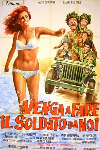 Poster of Venga a fare il soldato da noi