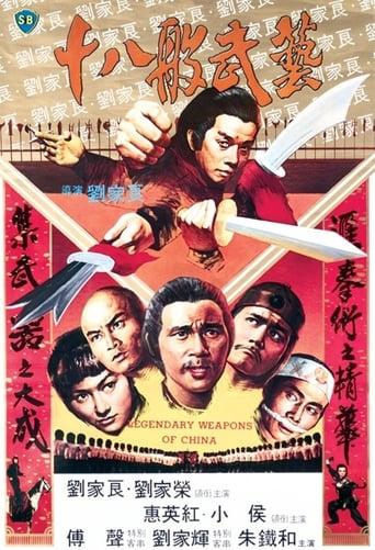 Poster of Legendární zbraně Číny