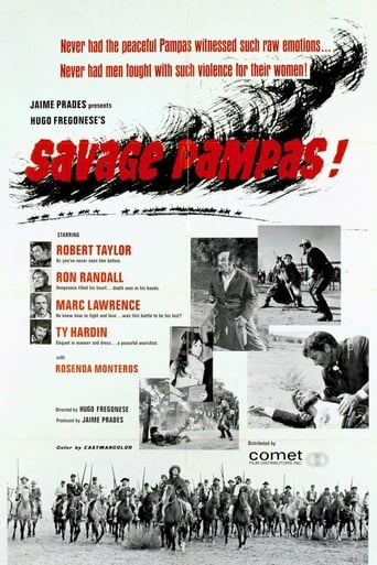Poster of Savage Pampas