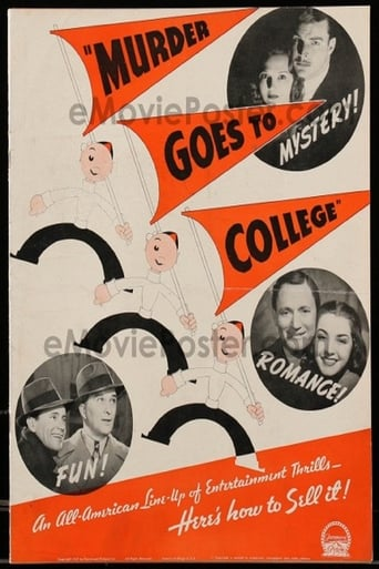 Poster of Murder Goes to College