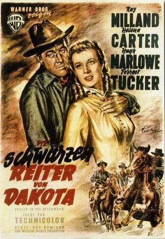 Poster of Die schwarzen Reiter von Dakota
