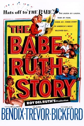 Poster of The Babe Ruth Story