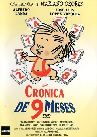 Poster of Crónica de nueve meses