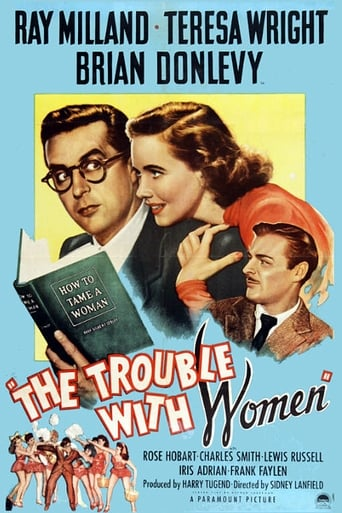 Poster of The Trouble with Women
