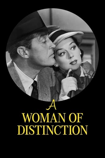 Poster of A Woman of Distinction