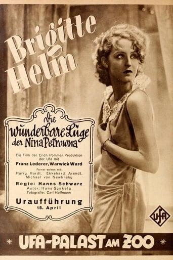 Poster of The Wonderful Lies of Nina Petrovna