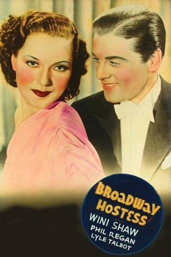 Poster of Broadway Hostess
