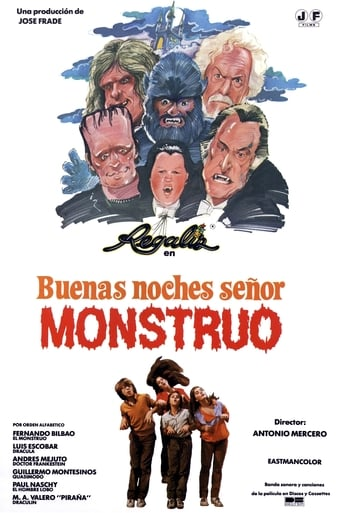 Poster of Good Evening, Mr. Monster