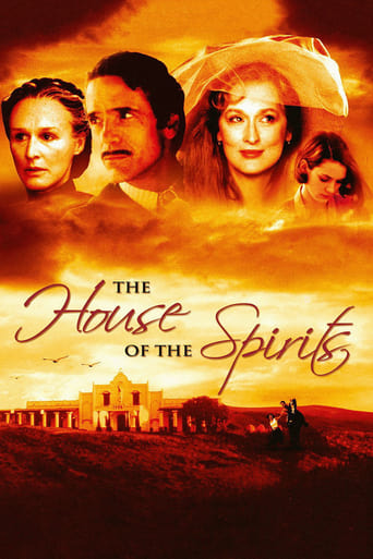Poster of The House of the Spirits